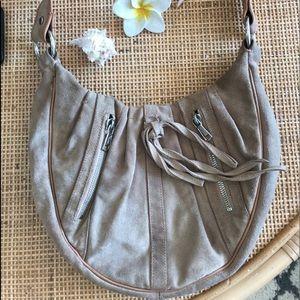 Yves Saint Laurent Vintage Suede Bagette Style Bag